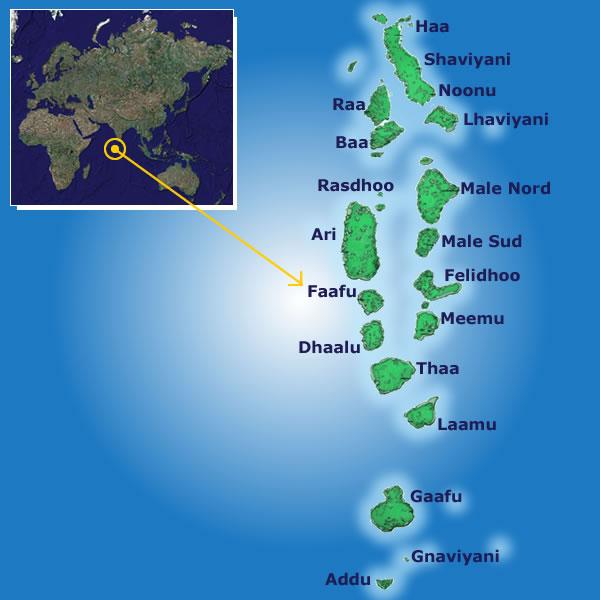اين تقع جزر المالديف السفر والسياحة